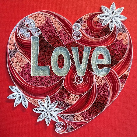 quilling coeur