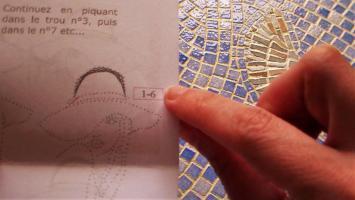 11 broderie sur papier carte a broder loisirs creatifs