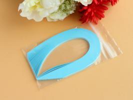 29 bande papier quilling loisir creatif bleu alize