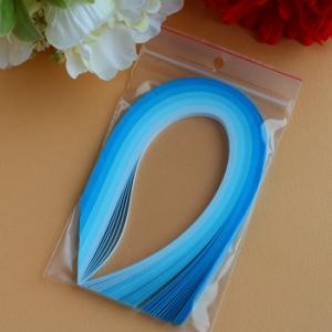 Assortiement bleu bande papier quilling loisirs creatifs 00