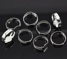 Bague support quilling a decorer ajustable alliage de fer diy customiser plusieurs