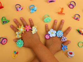Bagues quilling bijou papier loisir creatif modele facile kit
