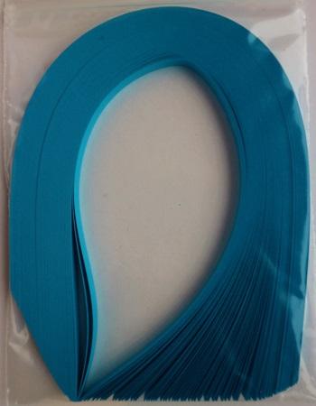Bande de papier quilling loisirs creatifs bleu turquoise 02