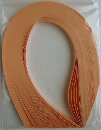 Bande de papier quilling loisirs creatifs orange saumon 02