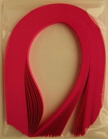 Bande de papier quilling loisirs creatifs rose fuchsia 02