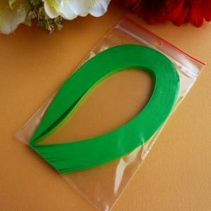 Bande de papier quilling loisirs creatifs vert menthe 01