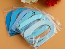 Bande papier quilling loisir creatif bleu 03