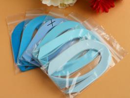 Bande papier quilling loisir creatif bleu 04