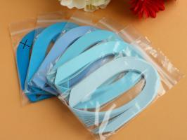 Bande papier quilling loisir creatif bleu 06