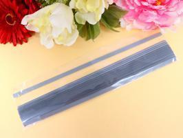 Bande papier quilling loisir creatif eugenie gris fonce 160g 7mm
