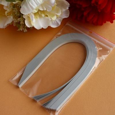 Bande papier quilling loisir creatif gris acier