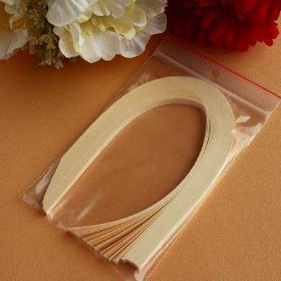 Bande papier quilling loisir creatif ivoire