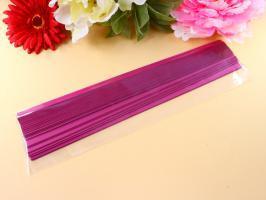 Bandes papier quilling loisirs creatifs eugenie rose framboise 160g 9mm