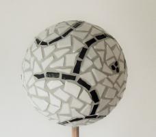 Boule mosaique deco de jardin arabesque loisirs creatifs 1