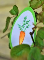 Broderie papier oeuf paques loisir creatif eugenie carotte