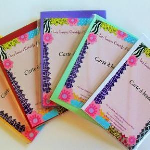 Broderie sur papier loisirs creatifs kits
