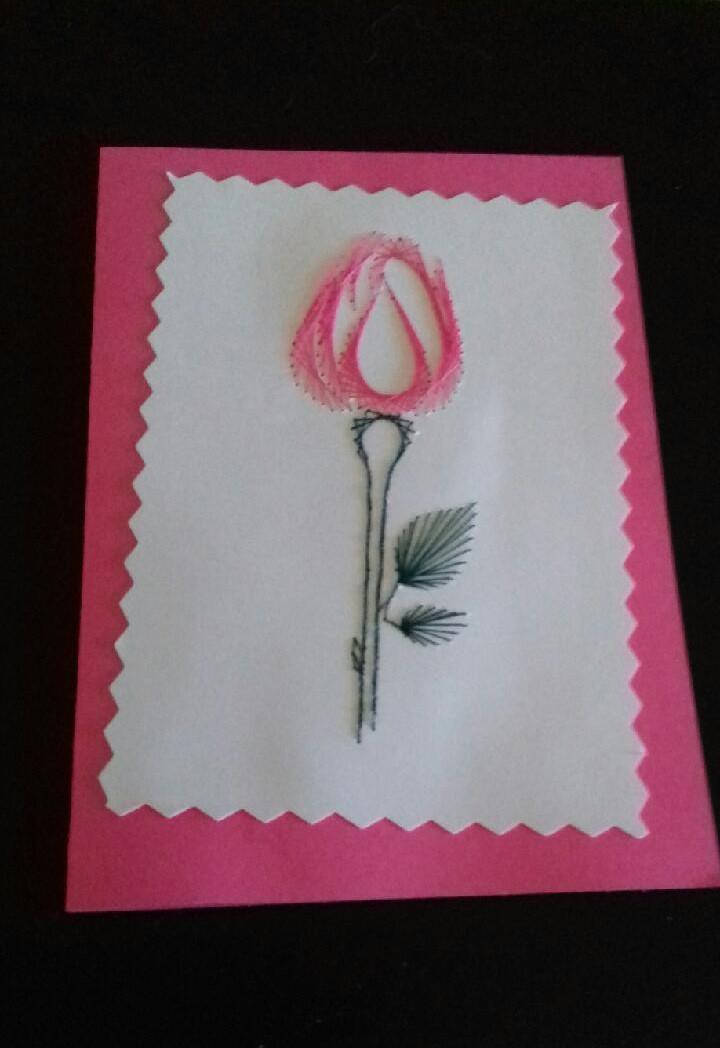 La broderie sur papier et cartes broder des loisirs - Accessoires loisirs creatifs ...