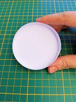 Contour cercle bande papier paperolles tuto modele facile soleil loisir creatif eugenie
