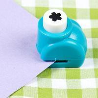 Fleur 5 petales ciseles mini perforatrice loisir creatif eugenie 01