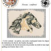 Flyer de presentation quilling cheval page 001