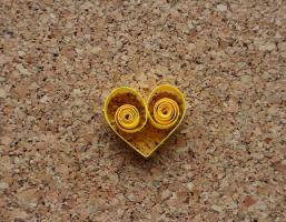 Gabarit coeur quilling loisirs creatifs creation 1