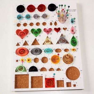 Gabarits multi-formes quilling