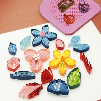 Grille quilling guide plaque outil loisir creatif 07