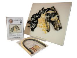 Kit cheval quilling loisir creatif eugenie