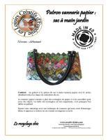 Kit patron vannerie papier loisirs creatifs loisir creatif magzine jardin 3