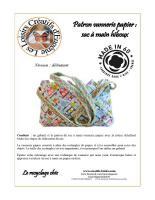 Kit patron vannerie papier loisirs creatifs loisir creatif papier cadeau hiboux 3