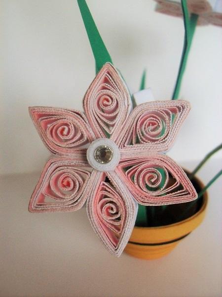 Kit quilling 3d loisirs creatifs detail fleur