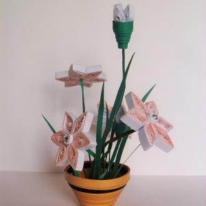 Kit quilling 3d loisirs creatifs fleurs