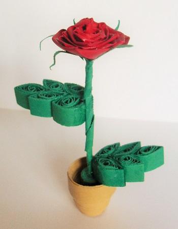 Kit quilling rose les loisirs creatifs d eugnie 02