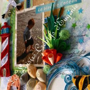 Kit quilling scrapbooking mer detail loisirs creatifs