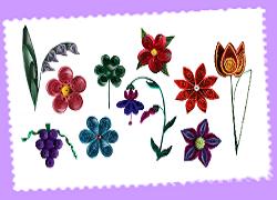 Kit tuto quilling fleur les loisirs creatifs d eugenie 2