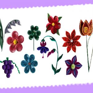 Kit tuto quilling fleur les loisirs creatifs d eugenie