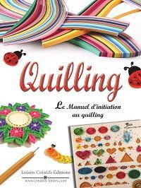 Livre initiation quilling manuel apprentissage debutant paperolles curling killing quiling