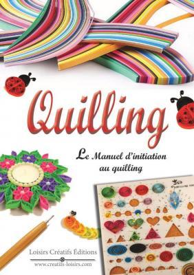 Livre quilling manuel initiation au quilling facile debutant tuto modele quilling apprendre 1