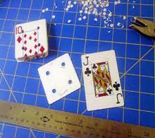 Loisirs creatifs realisation des cartes pour le tissage aux tablettes 1