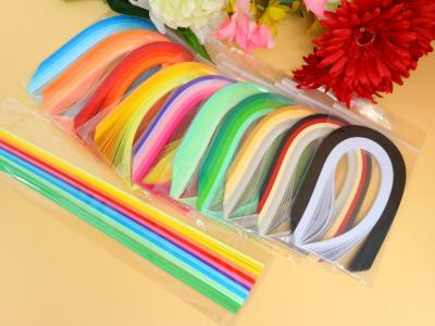 Lot de 10 assortiments + 1 offert, bandes de papier quilling 3mm