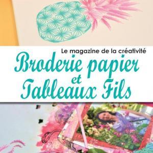 Magazine broderie papier et tableaux fil n 1 carte a broder page d acceuil 1