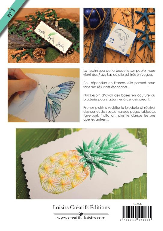 Magazine broderie papier et tableaux fil n 1 carte a broder page fin 1