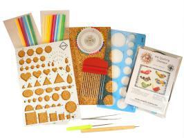 Materil quilling gabarit bande papier outil paperole quilled