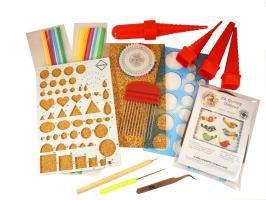 Mega pack materiel quilling debutant loisir creatif eugenie