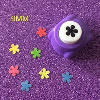 Mini perforatrice fleur 5 petales arrondis loisir creatif eugenie 04