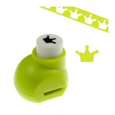 Mini perforatrice loisirs creatifs eugenie couronne 01