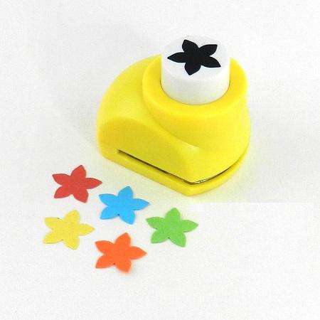 Mini perforatrice loisirs creatifs eugenie fleur 5 petales 05
