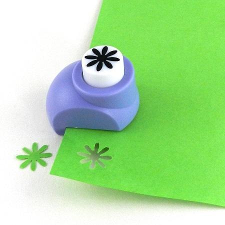 Mini perforatrice loisirs creatifs eugenie fleur 8 petales 02