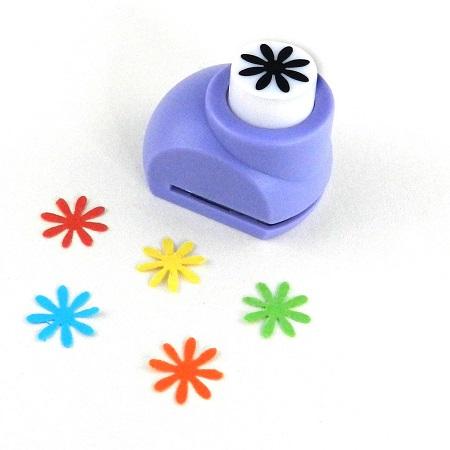 Mini perforatrice loisirs creatifs eugenie fleur 8 petales 03