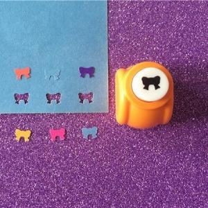 Mini perforatrice loisirs creatifs eugenie noeud 03